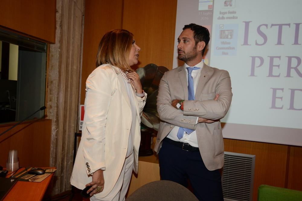 Maria Latella e Andrea Chiappetta
