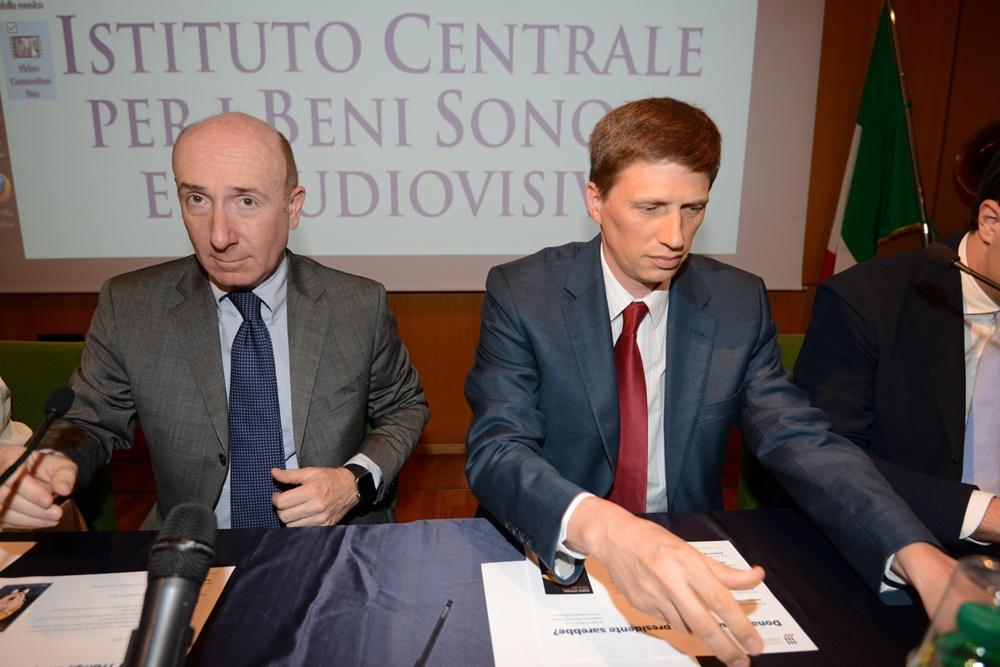 Roberto Arditti e Andrew Spannau