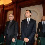 Antonio Spadaro e Luigi Di Maio