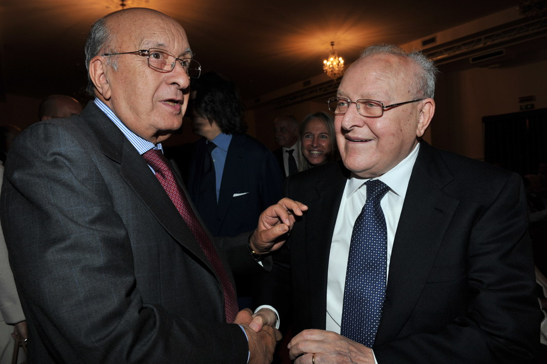 Ciriaco De Mita e Ettore Bernabei