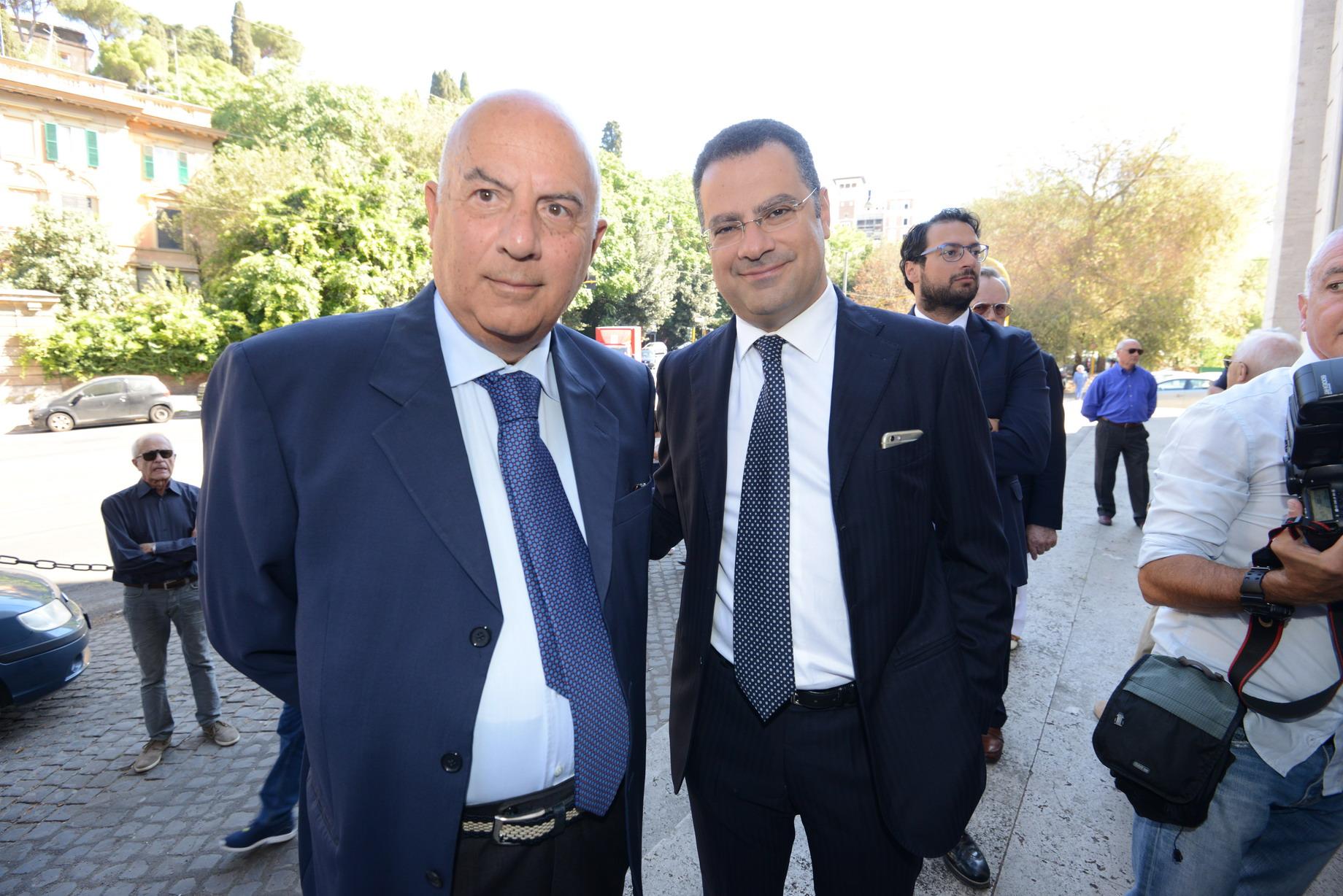 Alberto Brandani e Paolo Messa