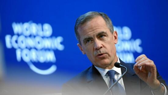 nessun accordo Mark J. Carney, Governor of the Bank of England