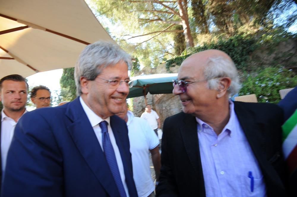 Paolo Gentiloni e Giacomo Marramao