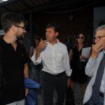 Stefano Feltri, Dario Nardella e Salvatore Settis
