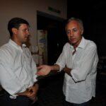Dario Nardella e Marco Travaglio