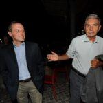 Massimo Giannini e Antonio Padellaro