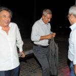 Carlo Freccero, Antonio Padellaro ed Enrico Mentana