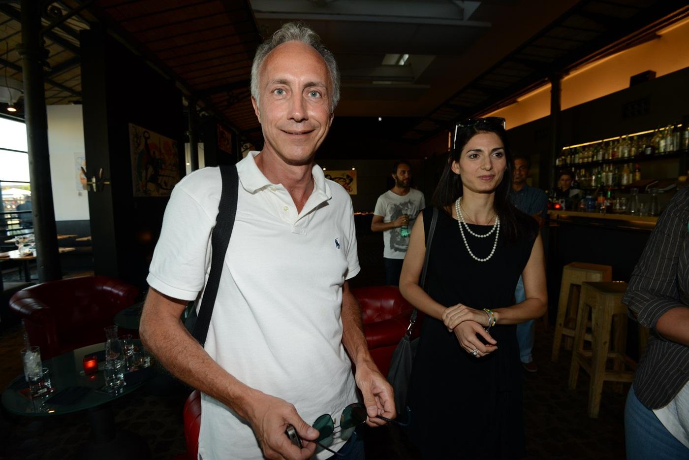 Marco Travaglio e Virginia Raggi