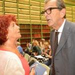 Valeria Fedeli e Silvio Sircana