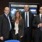 Vincenzo Boccia, Emma Marcegaglia, Corrado Passera e Marco Morelli
