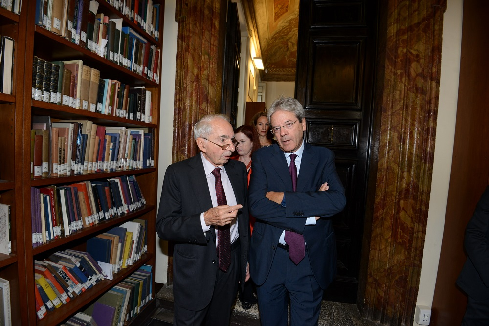 Giuliano Amato e Paolo Gentiloni
