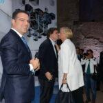 Paolo Messa, Carlo Calenda e Roberta Pinotti