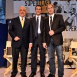 Adriano Galliani, Marco Morelli e Franco Baresi