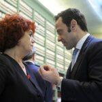 Valeria Fedeli e Marcello Minenna