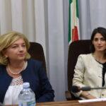 Virginia Raggi e Paola Muraro