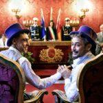Virginia Raggi celebra la prima unione civile di una coppia gay