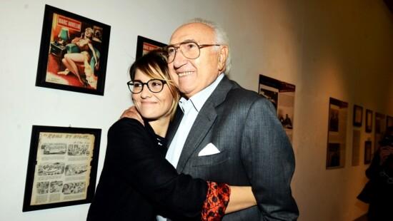 Pippo Baudo e Paola Cortellesi
