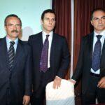 Giuseppe Menzi, Marco Morelli e Nicola Romiti