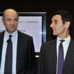 Corrado Passera e Marco Morelli