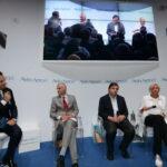Paolo Messa, Riccardo Procacci, Carlo Calenda e Roberta Pinotti
