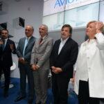 Sandro De Poli, Riccardo Procacci, Carlo Calenda e Roberta Pinotti