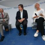 Riccardo Procacci, Carlo Calenda e Roberta Pinotti