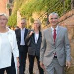 Roberta Pinotti e Riccardo Procacci