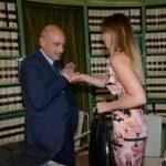 Carlo Fusaro e Maria Elena Boschi