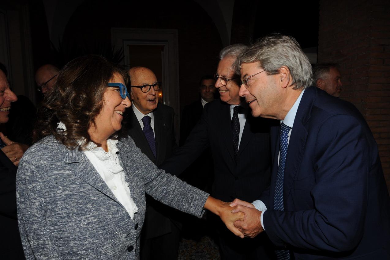 Paola Severino e Paolo Gentiloni
