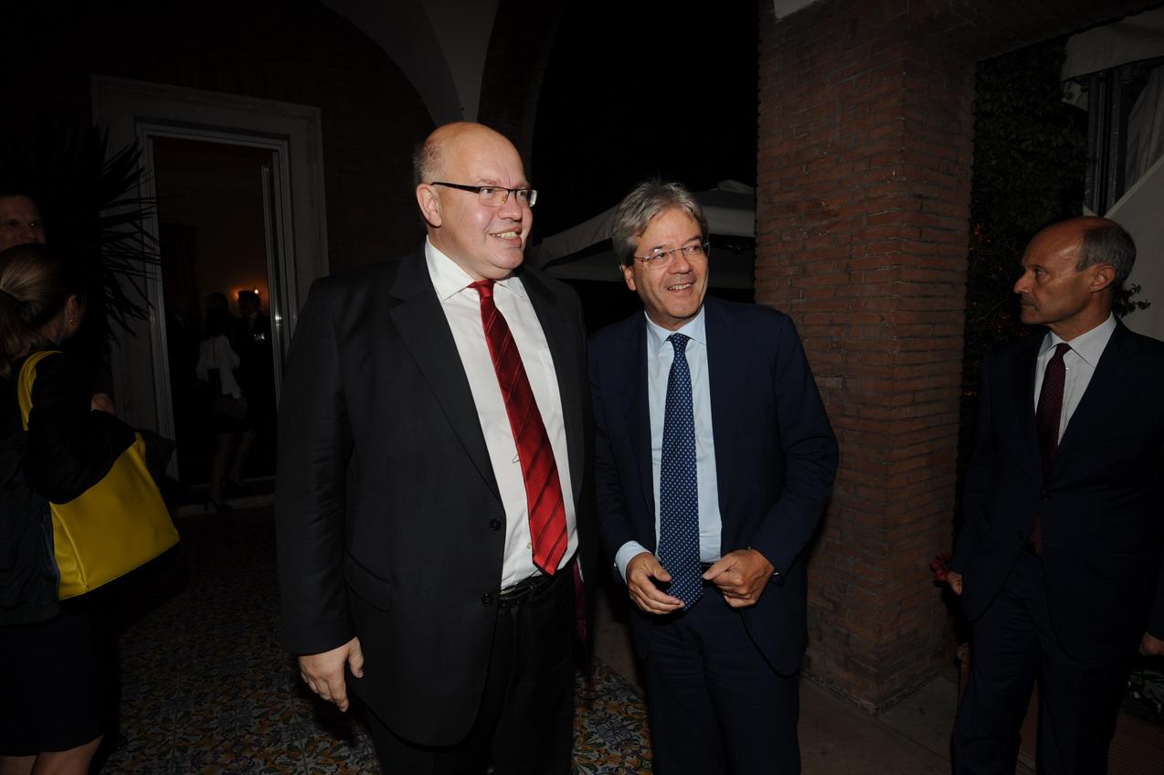 Peter Altmeier e Paolo Gentiloni