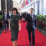 Agnese e Matteo Renzi - Imagoeconomica