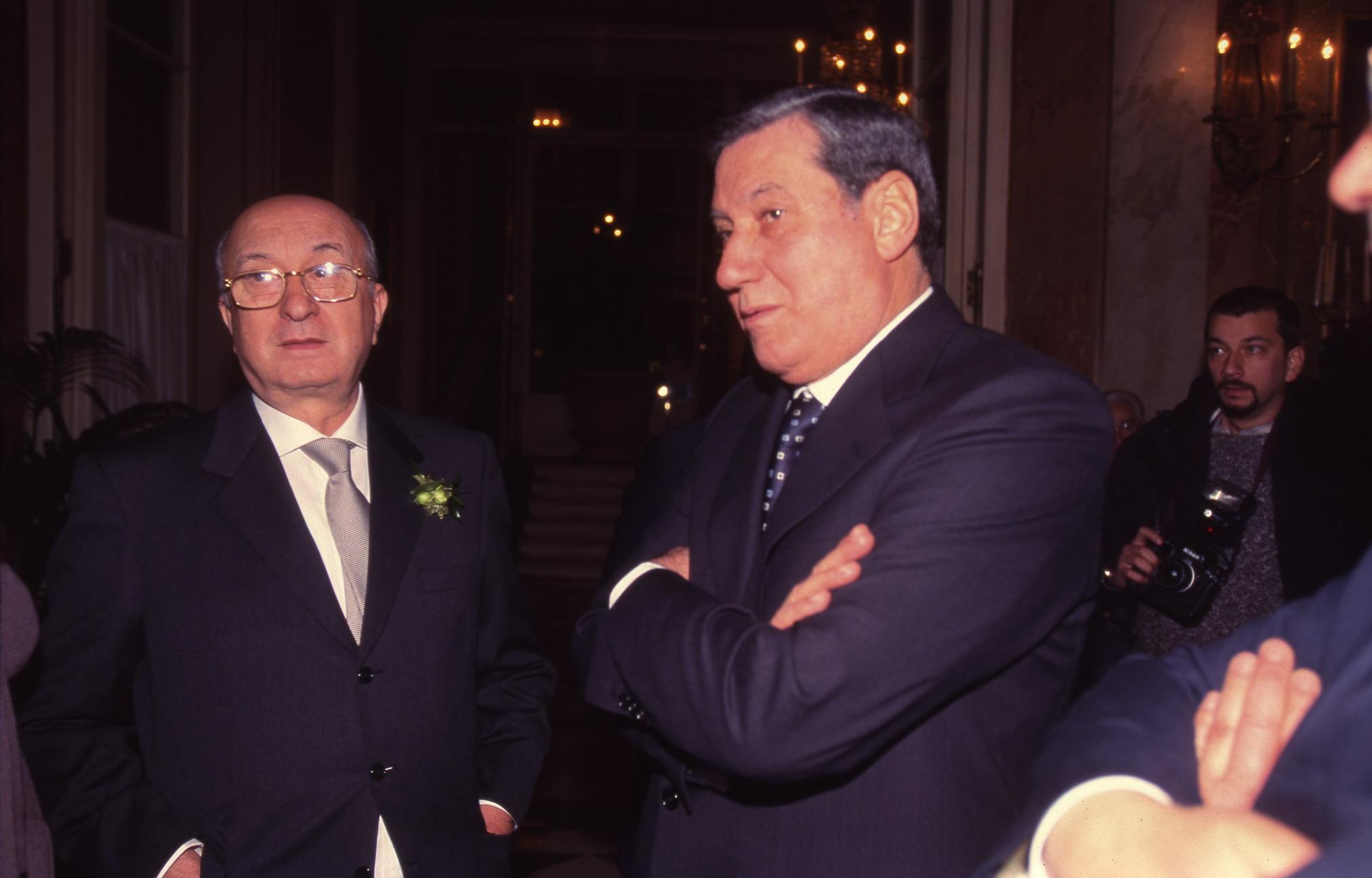 Ciriaco De Mita e Nicola Mancino