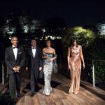 Matteo e Agnese Renzi con Barack e Michelle Obama - Imagoeconomica