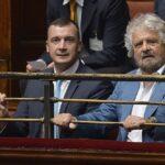 Rocco Casalino e Beppe Grillo