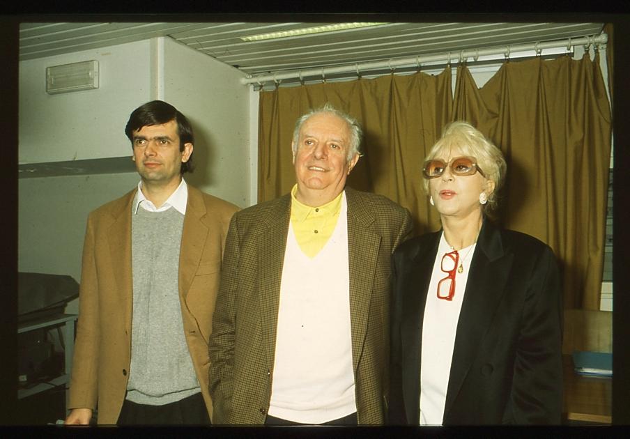 Dario Fo, Franca Rame e il figlio Jacopo