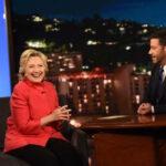 Hillary Clinton al Jimmy Kimmel Live - Pagina ufficiale Facebook - Agosto 2016