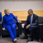 Hillary Clinton e Barack Obama - Pagina ufficiale Facebook - Agosto 2016