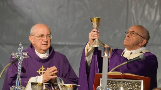 AGOSTINO VALLINI PAPA FRANCESCO JORGE MARIO BERGOGLIO