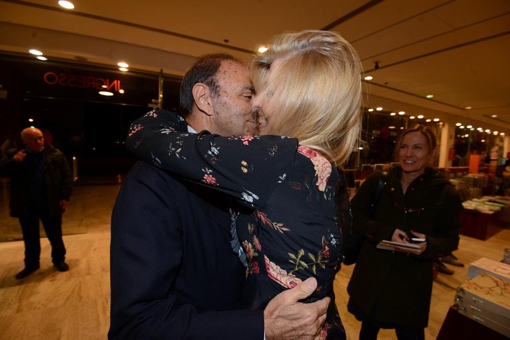Bruno Vespa e Concita Borrelli