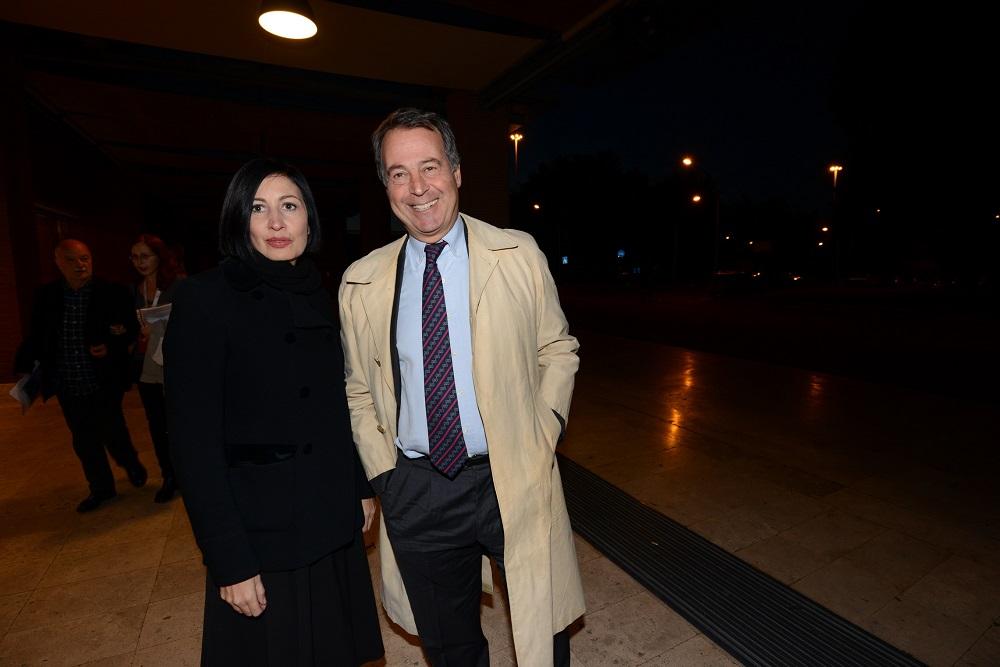 Candida Morvillo e Gianluca Verzelli