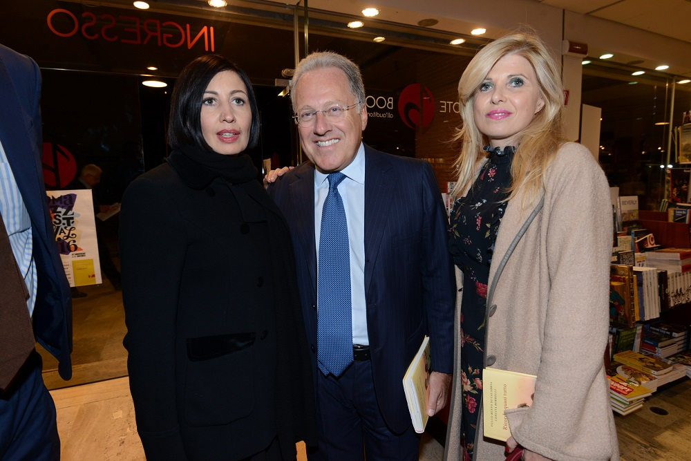 Candida Morvillo, Marcello Sorgi e Concita Borrelli