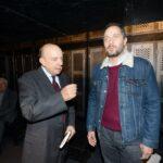 Gustavo Zagrebelsky e Claudio Santamaria