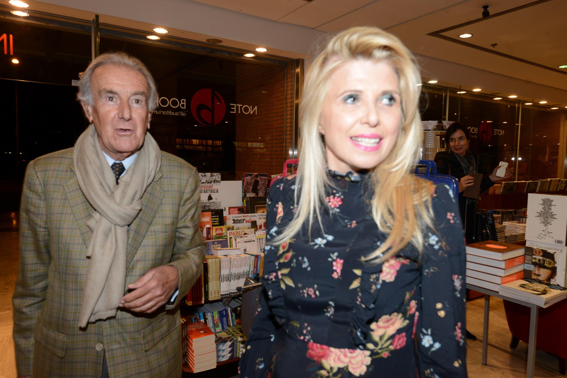 Concita Borrelli e Paolo Benedettini