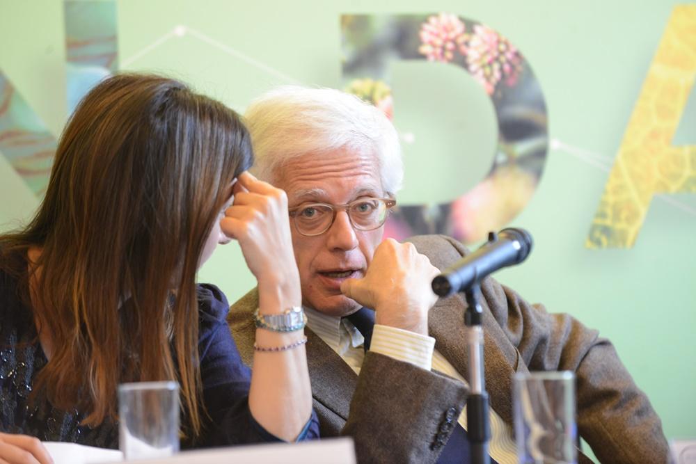 Francesca Santolini e Matteo Giuliano Caroli