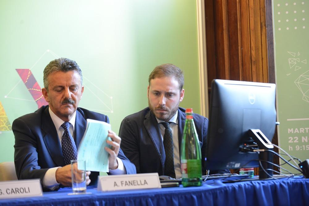 Alessandro Fanella e Brando Ghinzelli