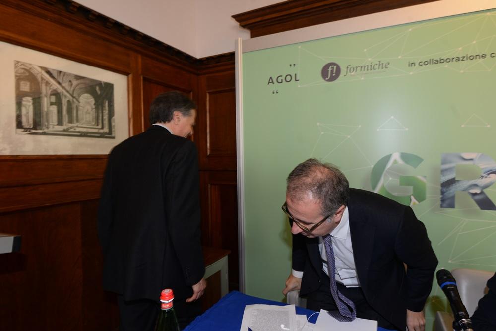 Enzo Moavero Milanesi e Massimo Fiorio