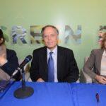 Daniela Corona, Enzo Moavero Milanesi e Mariangela Alterini