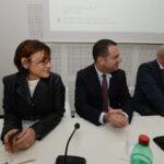 Simona Vicari, Paolo Messa e Luca Montani