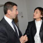 Ignazio Abrignani e Simona Vicari