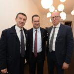 Ignazio Abrignani, Paolo Messa e Luca Montani